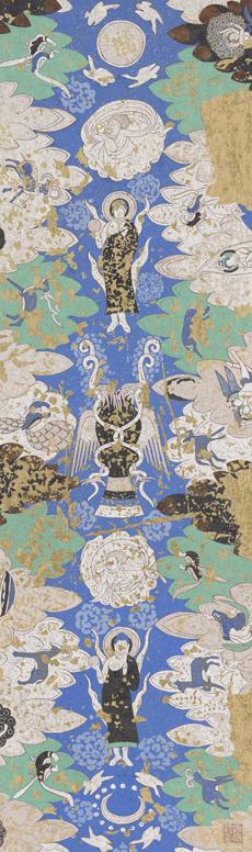 東京藝術大学と新疆藝術学院との大学間交流協定を記念して 張愛紅・シルクロード・亀茲(キジル)石窟壁画模写展覧会